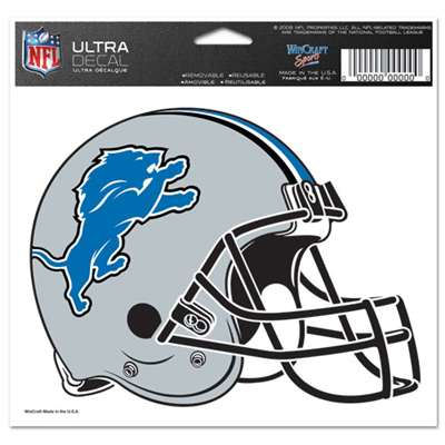 "Detroit Lions Ultra decals 5"" x 6"""
