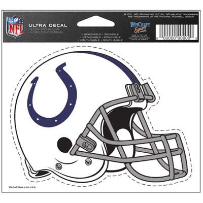 "Indianapolis Colts Ultra decals 5"" x 6"""