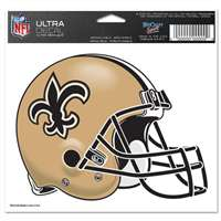 "New Orleans Saints Ultra decals 5"" x 6"""