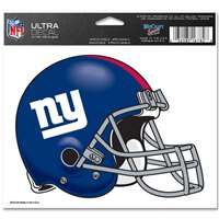"New York Giants Ultra decals 5"" x 6"""