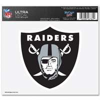 "Oakland Raiders Ultra decals 5"" x 6"""