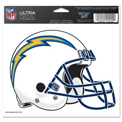 "San Diego Chargers Ultra decals 5"" x 6"""