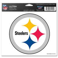 "Pittsburgh Steelers Ultra decals 5"" x 6"""