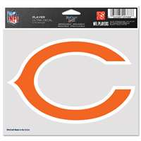"Chicago Bears Ultra decals 5"" x 6"""