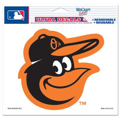 "Baltimore Orioles Ultra decals 5"" x 6"" - Cooperstown Logo"