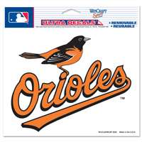 "Baltimore Orioles Ultra decals 5"" x 6"""