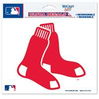 "Boston Red Sox Ultra decals 5"" x 6"" - Sox Logo"