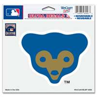 "Chicago Cubs Ultra decals 5"" x 6"" - Cooperstown Logo"