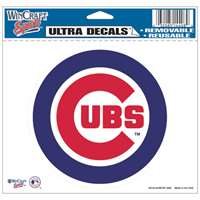 "Chicago Cubs Ultra decals 5"" x 6"""