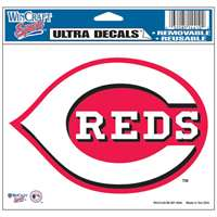 "Cincinnati Reds Ultra decals 5"" x 6"""