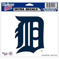 "Detroit Tigers Ultra decals 5"" x 6"""