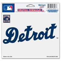 "Detroit Tigers Ultra decals 5"" x 6"" - Cooperstown Logo"