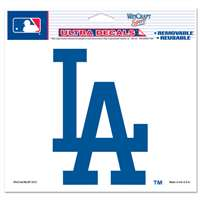"LA Dodgers Ultra decals 5"" x 6"""