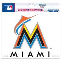 "Miami Marlins Ultra decals 5"" x 6"""