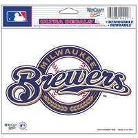 "Milwaukee Brewers Ultra decals 5"" x 6"""