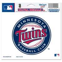 "Minnesota Twins Ultra decals 5"" x 6"""