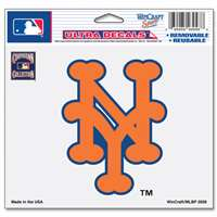 "New York Mets Ultra decals 5"" x 6"" - Cooperstown Logo"