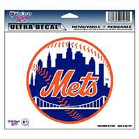 "New York Mets Ultra decals 5"" x 6"""