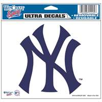 "New York Yankees Ultra decals 5"" x 6"""