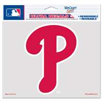 "Philadelphia Phillies Ultra decals 5"" x 6"""