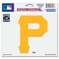 "Pittspurgh Pirates Ultra decals 5"" x 6"" - Cooperstown Logo"
