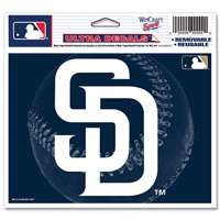 "San Diego Padres Ultra decals 5"" x 6"""