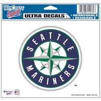 "Seattle Mariners Ultra decals 5"" x 6"""