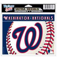 "Washington Nationals Ultra decals 5"" x 6"""