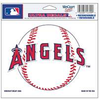 "Anaheim Angels Ultra decals 5"" x 6"""