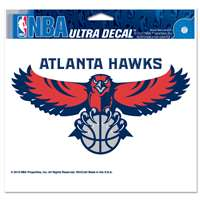 "Atlanta Hawks Ultra decals 5"" x 6"""