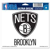 "Brooklyn Nets Ultra decals 5"" x 6"""