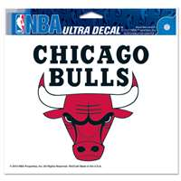 "Chicago Bulls Ultra decals 5"" x 6"""
