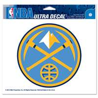 "Denver Nuggets Ultra decals 5"" x 6"""