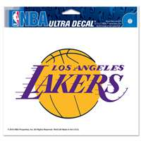 "Los Angeles Lakers Ultra decals 5"" x 6"""