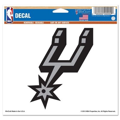 "San Antonio Spurs Ultra decals 5"" x 6"""