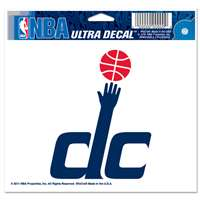 "Washington Wizards Ultra decals 5"" x 6"""