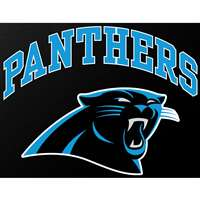 "Carolina Panthers Full Color Die Cut Transfer Decal - 6"" x 6"""