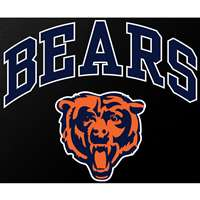 "Chicago Bears Full Color Die Cut Transfer Decal - 6"" x 6"""