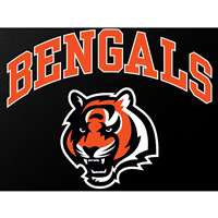 "Cincinatti Bengals Full Color Die Cut Transfer Decal - 6"" x 6"""