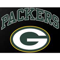 "Green Bay Packers Full Color Die Cut Transfer Decal - 6"" x 6"""
