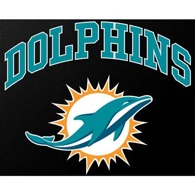 Miami Dolphins Full Color Die Cut Transfer Decal 6 Quot X 6 Quot