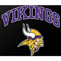 "Minnesota Vikings Full Color Die Cut Transfer Decal - 6"" x 6"""