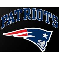 "New England Patriots Full Color Die Cut Transfer Decal - 6"" x 6"""