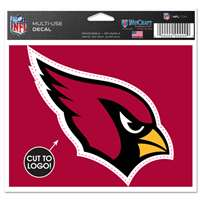 Arizona Cardinals Multi Use Perfect Cut Decal