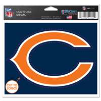 Chicago Bears Multi Use Perfect Cut Decal