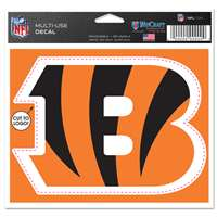 Cincinnati Bengals Multi Use Perfect Cut Decal