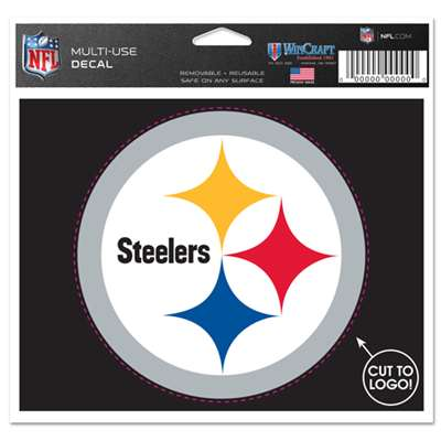 Pittsburgh Steelers Multi Use Perfect Cut Decal
