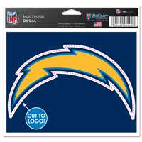 San Diego Chargers Multi Use Perfect Cut Decal