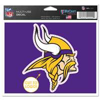 Minnesota Vikings Multi Use Perfect Cut Decal