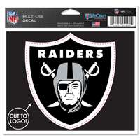 Oakland Raiders Multi Use Perfect Cut Decal